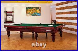 12' Professional Tournament Russian Pyramid Billiard / Pool Table