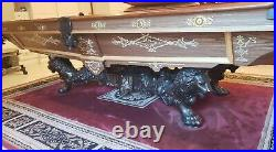 1880's Brunswick-Balke-Collender Co. The Monarch 9 ft Pool Table