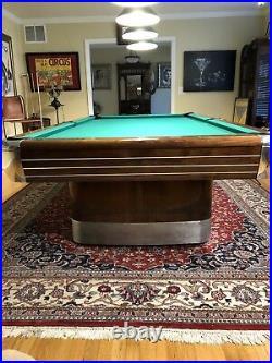 1940s Brunswick Pool Table