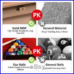 48 Mini Table Top Pool Table Game Billiard Set Cues Balls Gift Indoor Sports