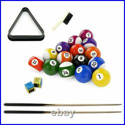 4ft Game Billiard Pool Table Foldout Level Stand Legs Net Pockets Real Action