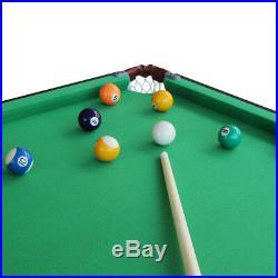 55 Folding Billiard Table Pool Table Modern Space Saving Pool Billiard Table