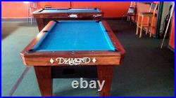 7' Diamond Smart Billiard Pool Table