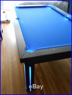 7' VISION CONVERTIBLE MODERN POOL BILLIARD TABLE dining/office fusion NEW YORK