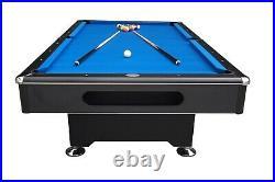 7 foot BLACK SHADOW SLATE BILLIARD POOL TABLE by BERNER BILLIARDS -MAN CAVE- NEW