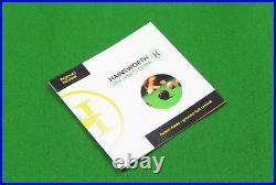 7ft ENGLISH GREEN Hainsworth Elite-Pro Pool Table Cloth