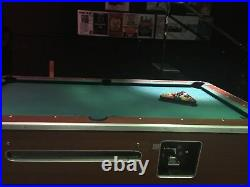 8 Foot Valley Coin-operated Slate Pool Table