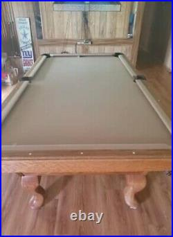 8' Olhausen Pool table 1 slate. Excellent condition