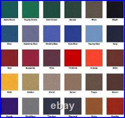 8' Purple ProLine Classic Billiard Pool Table Cloth Felt SHIPS FAST
