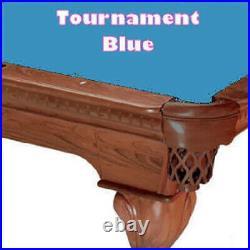 8' Simonis 760 Tournament Blue Billiard Pool Table Cloth Felt