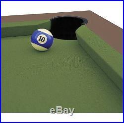 84-inch Outdoor Billiard Pool Table Weather Resistant Hand-Woven Resin Wicker