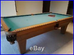 87 Pool Table Billiard Billiards Set Light Cues Balls Chalk Triangle Brush