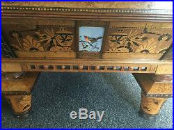 9' Brunswick Balke Antique Pool Table 1870s