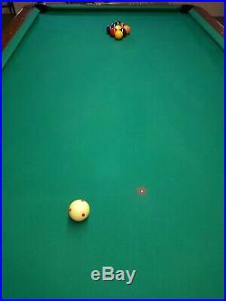 9' Brunswick Gold Crown 3 Pool Table