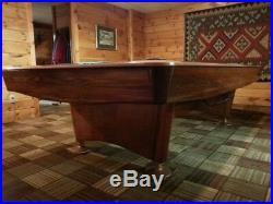9' Brunswick Gold Crown 3 Pool Table From Sloezenbilliards