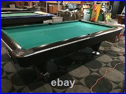 9 Brunswick Gold Crown IV Pool Billiard Table
