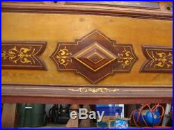 ANTIQUE 1870's 9' J E CAME BILLIARD POOL TABLE RARE MODEL