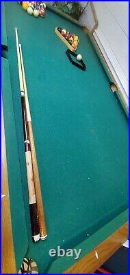 American Heritage Billiard Table 8 Foot Table Claw Foot Pool