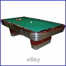 Antique/Pool/Billiard/Brunswick Centennial Rare Pro 46 x 92 PS, 8' Pool Table