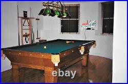 Antique Pool TBL (H&J Sullivan / Brunswick) 9' refurb'd extras RELISTED