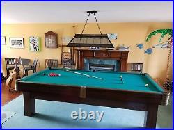 Antique Pool Table 1938 Brunswick restored