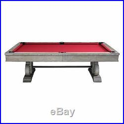 Barnstable Pool Table 8' Silver Mist with Dining Top FREE SHIPPING