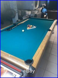 Barrington BLL084 017B Billiard Pool Table With Dartboard Set