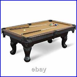 Billiard Pool Table EastPoint Sports with Felt Top 2 Cues, Billiards Balls&Triangle