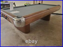 Brunswick 1945 Restored Anniversary 8' pool table