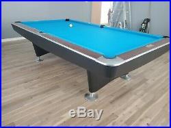 Brunswick 9' Gold Crown II pool table