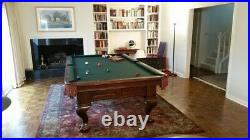 Brunswick 9F Pool Table