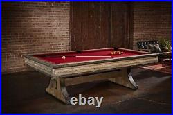 Brunswick Billiards Edinburgh 8ft. Pool table free accessory kit