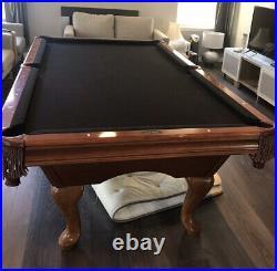 Brunswick Bradford II Mahogany pool table used LOCAL PICKUP ONLY