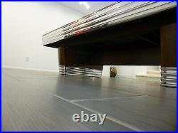 Brunswick Centennial Pocketless pool table aka Carom, Carombola, Billards