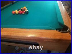 Brunswick ETON Pool Table 8 ft LOCAL PICKUP ONLY