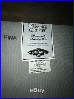 Brunswick Gold Crown 5 Pool Table 9' Used