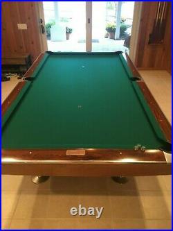 Brunswick Gold Crown 9' Pool Table