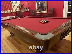 Brunswick Gold Crown III (3) 9 foot pool table