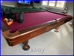 Brunswick Gold Crown IV 9' Pool table