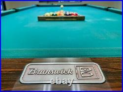 Brunswick Gold Crown Series I 9-Foot Pool Table