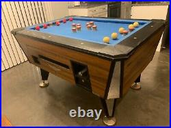 Bumper Pool Table official size great shape sticks and balls included