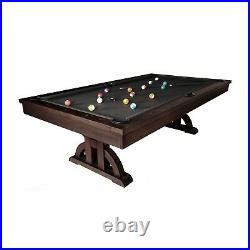 Drummond Pool Table By Imperial 8' Weathered Dark Chestnut 8 ft
