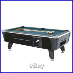 Dynamo Billiards Sedona Pool Table Coin Op Black 8