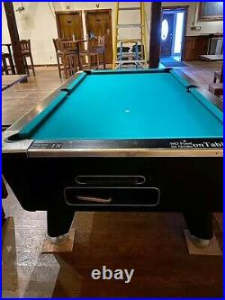 Dynamo coin operated 8 pool table