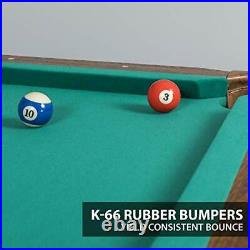 EastPoint Sports Billiard Pool Table with Felt Top Features Durable Material a