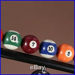 Game Room Industrial Light Billiard Balls Metal Pool Table Glass Lamp Fixture US