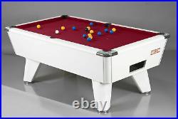 HPL GAMING 7ft Supreme Winner Freeplay Slate Bed Pool Table