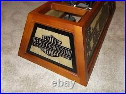 Harley Davidson Billiards Pool Table Light (Rare)