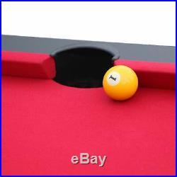 Hathaway Jupiter 7-ft Pool Table Black Finish Black