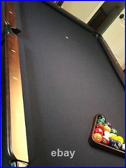 Imperial pool table 8ft with rack, cues & cover